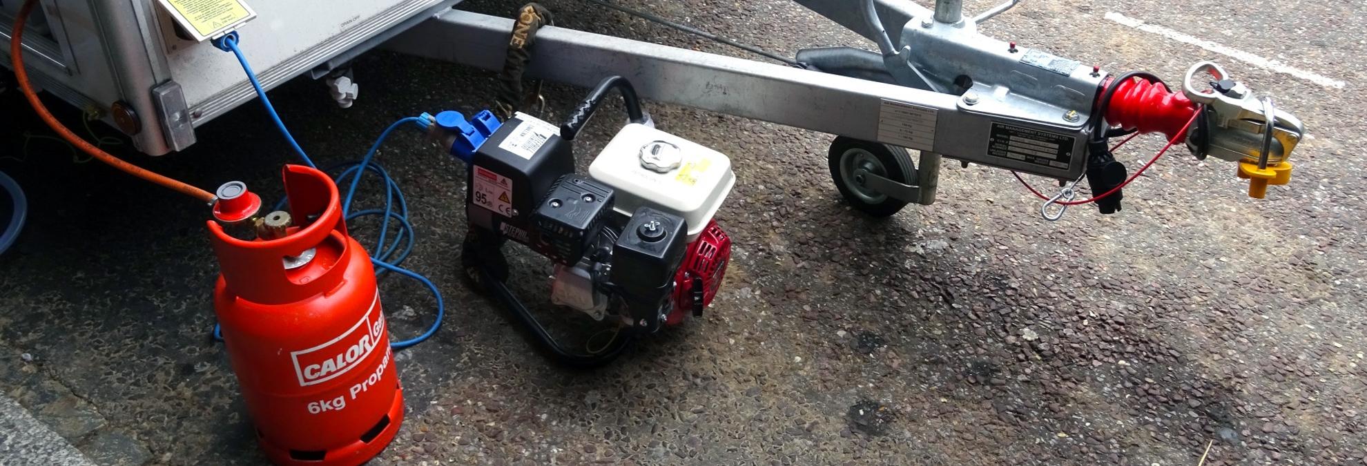 coleman generator not producing power